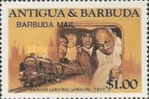 [Politicians - Issues of 1984 of Antigua & Barbuda Overprinted
