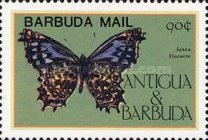 [Butterflies - Issues of 1985 of Antigua & Barbuda Overprinted