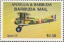 [The 40th Anniversary of the International Civil Aviation Organization - Issues of 1985 of Antigua & Barbuda Overprinted