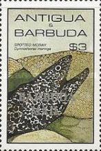 [Marine Life - Issues of 1985 of Antigua & Barbuda Overprinted