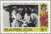 [The 60th Anniversary of the Birth of Queen Elizabeth II, Typ NE]