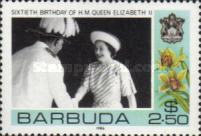[The 60th Anniversary of the Birth of Queen Elizabeth II, Typ NG]