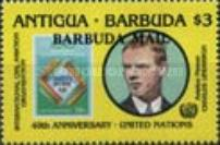 [The 40th Anniversary of the United Nations Organization - Issues of 1985 of Antigua & Barbuda Overprinted