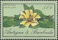 [Flowers - Issues of 1986 of Antigua & Barbuda Overprinted