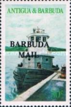 [Local Boats - Issues of 1986 of Antigua & Barbuda Overprinted