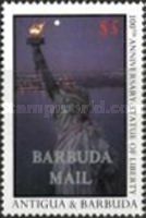 [The 100th Anniversary of Statue of Liberty - Issues of 1987 of Antigua & Barbuda Overprinted