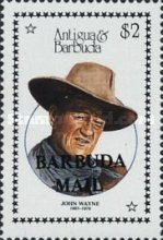[Entertainers - Issues of 1987 of Antigua & Barbuda Overprinted
