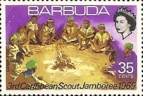 [The 3rd Caribbean Scout Jamboree, Georgetown, type P]