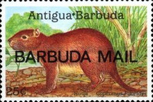 [Local Fauna - Issues of 1989 of Antigua & Barbuda Overprinted