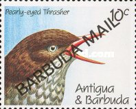 [Birds - Issues of 1990 of Antigua & Barbuda Overprinted
