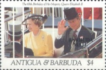 [The 65th Anniversary of the Birth of Queen Elizabeth II - Issues of 1991 of Antigua & Barbuda Overprinted