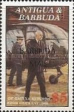 [The 100th Anniversary of the Birth of Charles de Gaulle, French Statesman, 1890-1970 - Issues of 1991 of Antigua & Barbuda Overprinted