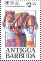 [United Nations World Health Organization Projects - Issue of 1992 of Antigua & Barbuda Overprinted