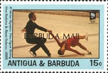 [Winter Olympic Games '94 - Lillehammer, Norway - Issues of 1993 of Antigua & Barbuda Overprinted