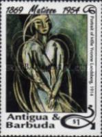 [The 40th Anniversary of the Death of Henry Matisse, 1869-1954 - Issues of 1993 of Antigua & Barbuda Overprinted