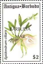 [Orchids - Issues of 1994 of Antigua & Barbuda Overprinted