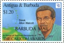 [The 1st Recipients of Order of the Caribbean Community - Issues of 1994 of Antigua & Barbuda Overprinted