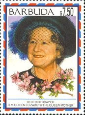 [The 95th Anniversary of the Birth of Queen Elizabeth the Queen Mother, 1900-2002, Typ TA]