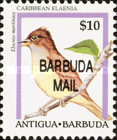 [Birds - Issues of 1995 of Antigua & Barbuda Overprinted