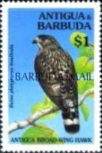 [Birds - Issues of 1994 of Antigua & Barbuda Overprinted