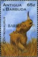 [Prehistoric Animals - Issues of 1995 of Antigua & Barbuda Overprinted