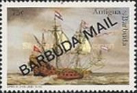 [Sailing Ships - Issues of 1996 of Antigua & Barbuda Overprinted
