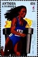 [Olympic Games - Atlanta, USA - Previous Medal Winners - Issues of 1996 of Antigua & Barbuda Overprinted