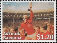 [Football World Cup - France - Issues of 1997 of Antigua & Barbuda Overprinted