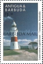 [Lighthouses of the World - Issues of 1998 of Antigua & Barbuda Overprinted