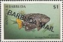 [Fish - Issues of 1998 of Antigua & Barbuda Overprinted