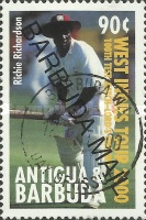 [Test Match at the Lord's Cricket Ground, London - Issues of 2000 of Antigua & Barbuda Overprinted