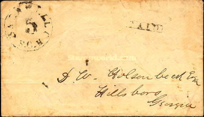 [Handstamped Envelope, type A]