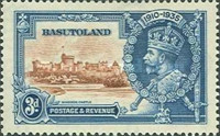 [The 25th Anniversary of the Accession of King George V, Typ B2]