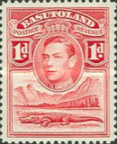 [King George VI and Landscape, Typ D1]