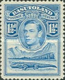 [King George VI and Landscape, Typ D2]