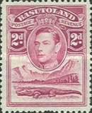 [King George VI and Landscape, Typ D3]