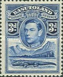 [King George VI and Landscape, Typ D4]