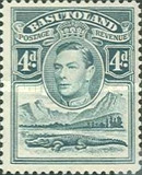 [King George VI and Landscape, Typ D5]