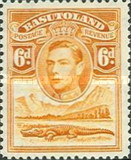 [King George VI and Landscape, Typ D6]