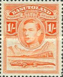 [King George VI and Landscape, Typ D7]