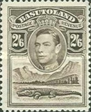 [King George VI and Landscape, Typ D8]