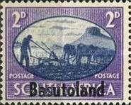 [South Africa Postage Stamps Overprinted, Typ E2]