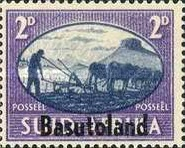 [South Africa Postage Stamps Overprinted, Typ E3]