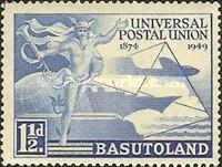 [The 75th Anniversary of Universal Postal Union, Typ L]