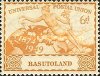 [The 75th Anniversary of Universal Postal Union, Typ N]