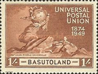 [The 75th Anniversary of Universal Postal Union, Typ O]