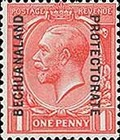 [Great Britain Postage Stamps Issue of 1912-1913 Overprinted, type AG1]