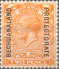 [Great Britain Postage Stamps Issue of 1912-1913 Overprinted, type AG3]