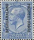 [Great Britain Postage Stamps Issue of 1912-1913 Overprinted, type AG4]