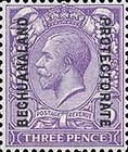 [Great Britain Postage Stamps Issue of 1912-1913 Overprinted, type AG5]